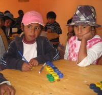 Lektieklub i Bolivia