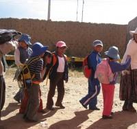 Migantbørn i Bolivia