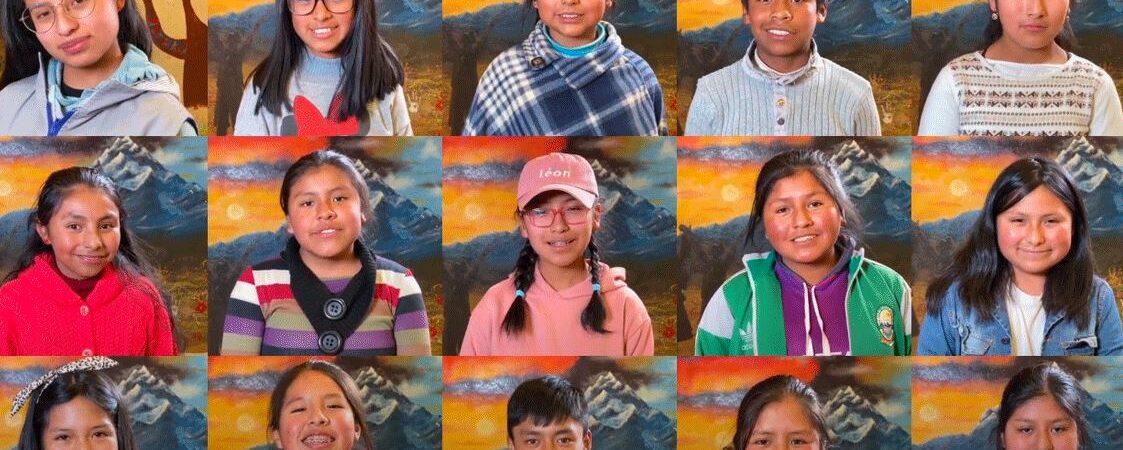 Børn støtter børn i Corona-krisen